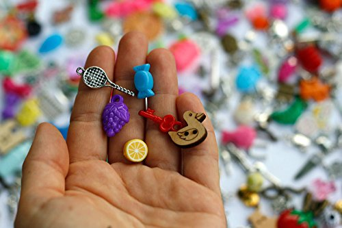 TomToy Small Mixed I Spy trinkets for I spy Bag/ Bottle, Children Crafts, Language Games, 1-3cm, Set of 20/50/100/...500 (400 trinkets) by TomToy (Image #2)