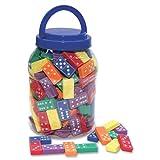 Chenille Kraft Wonderfoam Dominoes with Storage Bucket