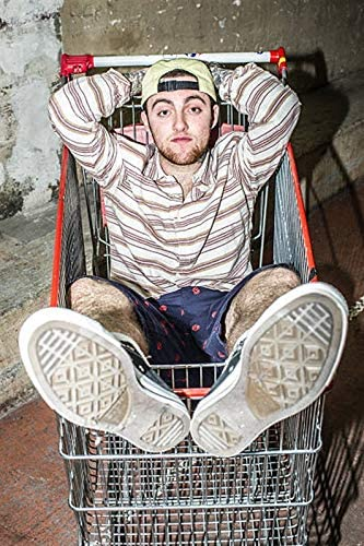 """Mac Miller Faces poster wall art home decor photo print 24/"""" x 24/"""" inches"""