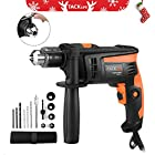 Tacklife PID01A Hammer Drill 6.0 Amp 1/2 In. 2800rpm Reversible with Variable Speed,Locking