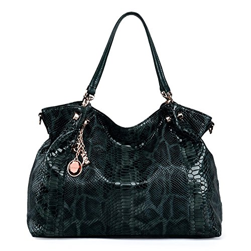 FOXER Women Genuine Leather Handbag Tote Purse Top Handle Satchel Shoulder Bag by FOXER