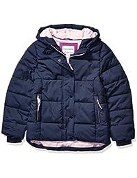 Girls' Heavy-Weight Hooded Puffer Coat