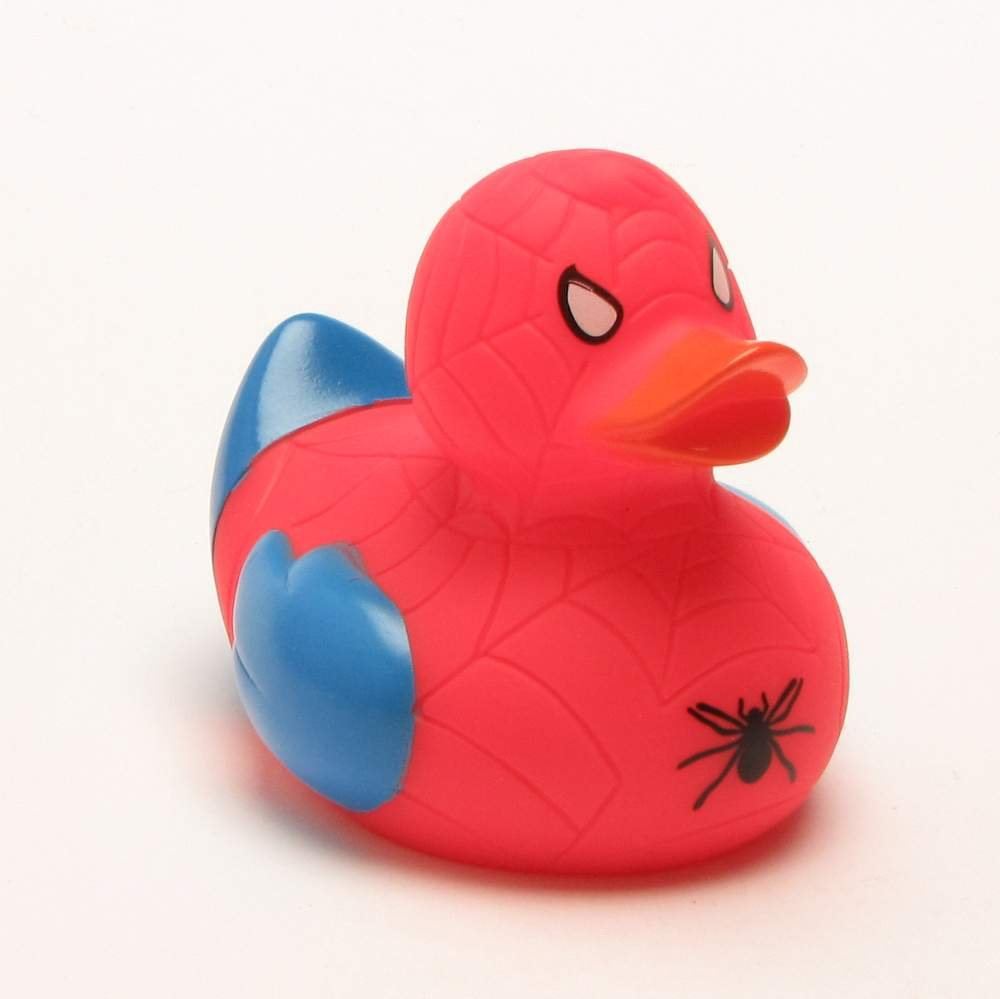 70%OFF Patito de baño Spiderman | Patito de goma | Patito de hule ...