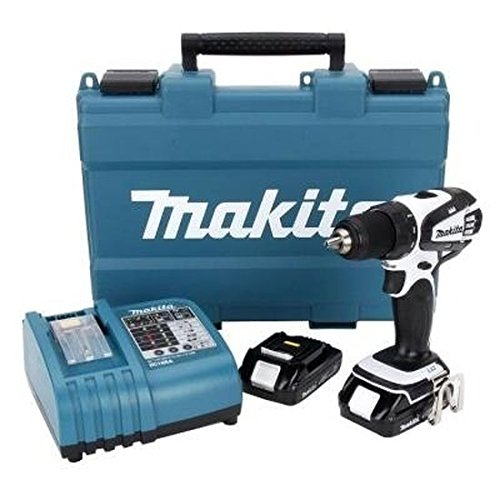 Makita LXFD01CW 18-Volt Compact Lithium-Ion Cordless 1/2-Inch Driver-Drill Kit ()