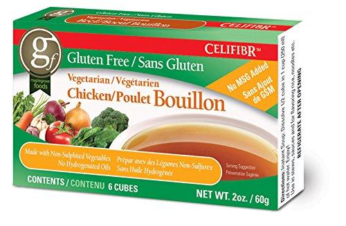 Celifibr Gluten Free Vegetarian Bouillon Soup, Chicken, 2 Ounce (Pack of 12)