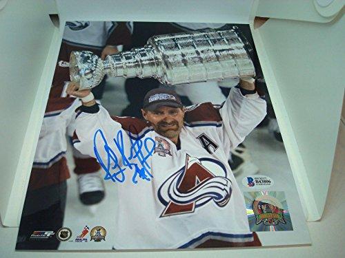 Signed Bourque Photograph - 8x10 Beckett BAS COA 1A - Beckett Authentication - Autographed NHL Photos