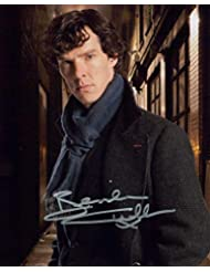 BENEDICT CUMBERBATCH (Sherlock) signed 8X10 photo