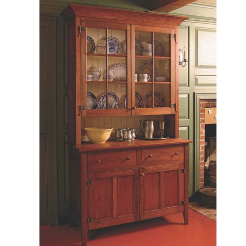 Fine Woodworking Country Hutch Plan - Hutch Plan
