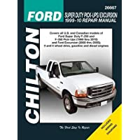 Ford Super Duty Pick-ups/Excursion: 1999 through 2010