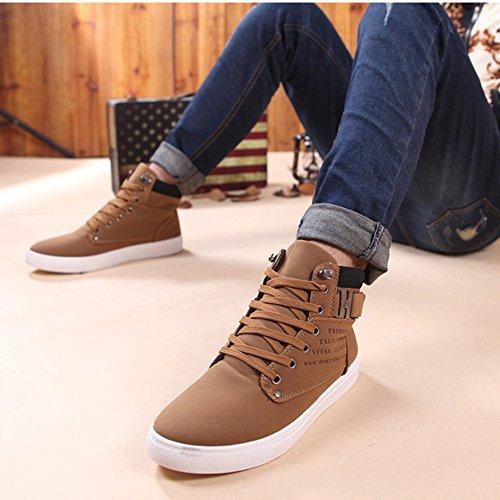 Altos Caqui Casuales 2018 Zapatos Sneakers para Toamen Hombres Zapatos fABaxPn