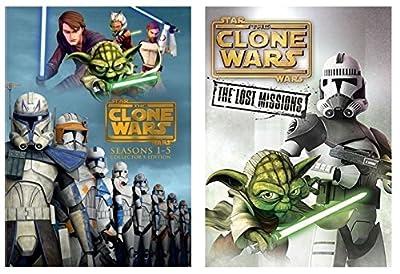 Star Wars: The Clone Wars Complete Series Seasons 1-6 DVD Box Set