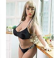 Amazon.com: Muñeca inflable realista 3D cara chica marrón ...