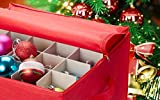 Christmas Ornament Storage - Stores up to 75
