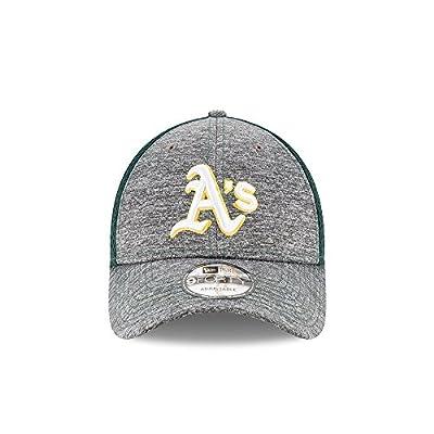 Oakland Athletics New Era Shadow Turn 9FORTY Adjustable Hat Grey/Green