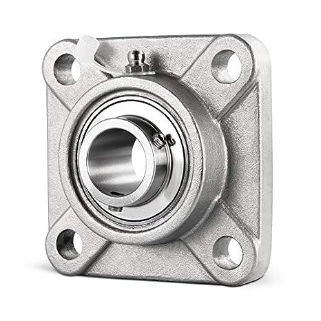 DOJA Industrial | Rodamientos con Soporte UCF 209 INOX Cojinete de ...