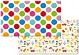 Dwinguler Eco-friendly Kids Play Mat – Polka Dots (Large)