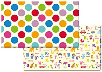 Dwinguler Eco-friendly Kids Play Mat – Polka Dots Large
