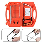 CAMWAY 11 in 1 Magic Saw Hand Drill Multifunction Saw Wood Glass Cutting Metal Tool Kit for Wood, Plastic, Rubber, RV, Soft Metal, Stainless Steel, Tile
