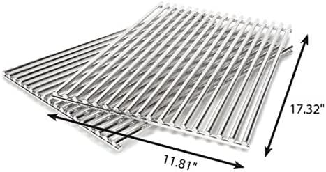 Amazon Com Grill Care 17527 Stainless Steel Grids Compatible With Weber Spirit And Genesis Grills Garden Outdoor