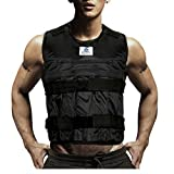 Adjustable Workout Weight 44LB 20KG Weighted Vest Exercise Training Fitness