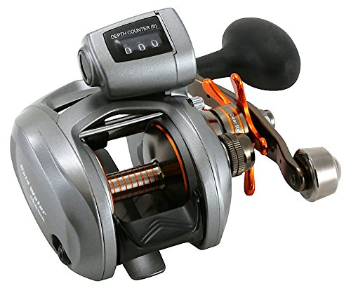 Okuma Coldwater 350 Low Profile Linecounter Reel CW354D, Right Hand (Aluminum Rod Home 1 4 Depot)