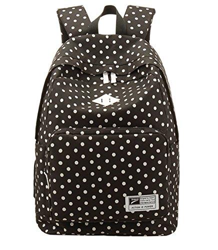 Fansela Casual Canvas Backpack Teenage