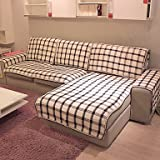 WWQY Cotton Pastoral Style Sofa Cushion 9090