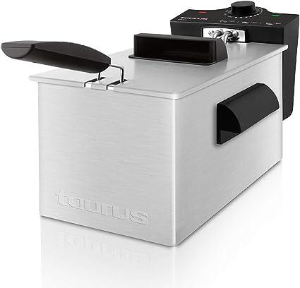 Taurus Fry Time3 – Freidora de 3 litros de Capacidad, Resistencia ...