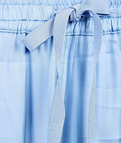 couture Blu Y9pp05l59 Semi Donna Viscosa Pantaloni dPHPq40