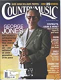 COUNTRY MUSIC Magazine January 2992 GEORGE JONES cover, Chris LeDoux