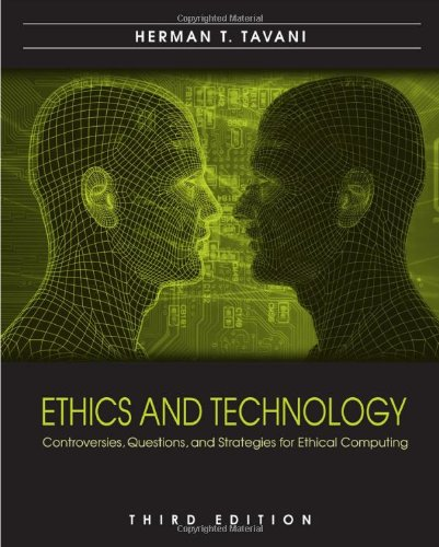 Price comparison product image Ethics and Technology: Controversies, Questions, and Strategies for Ethical Computing