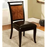 247SHOPATHOME IDF-3034SC Dining-Chairs, Brown