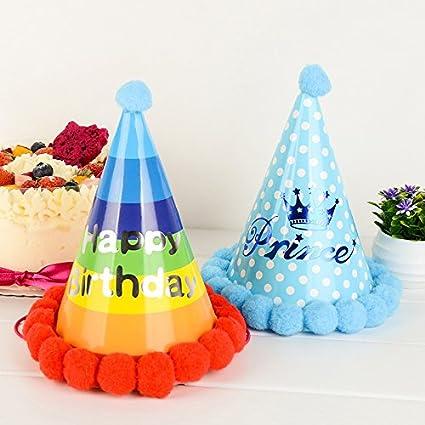 Outflower Lovely - Gorro de cumpleaños para niño con diseño ...