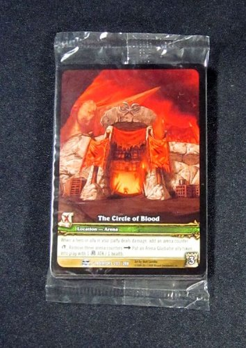 (12) World of Warcraft WoW TCG The Circle of Blood Gladiators Promo Extended Art