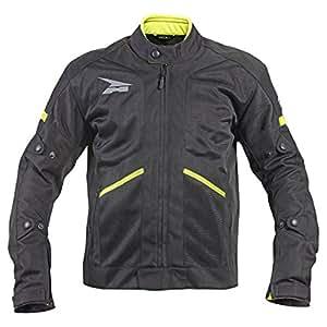 AXO unisex-adult Aria Mesh WP Jacket (Black, Large)