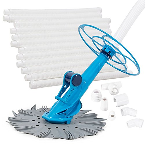 34' Wood Top Set (Eight24hours Inground Above Ground Swimming Pool Automatic Cleaner Clean Vacuum Hose Set)