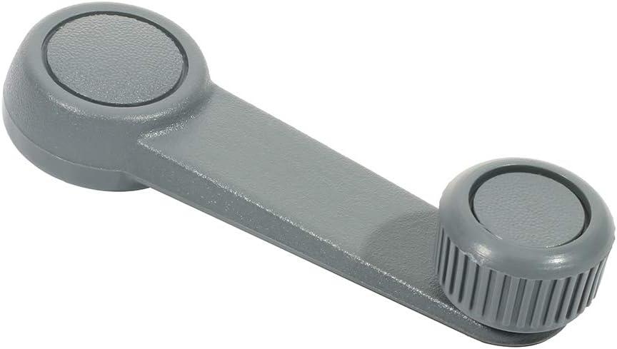 LSAILON Door Handles Driver Passenger Side Window Crank Handles Gray fits 2008-2011 for Ford Focus 4PCS Left Right