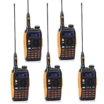 Baofeng GT-3 - Pack de Walkie-talkie + antena, cargador de ...