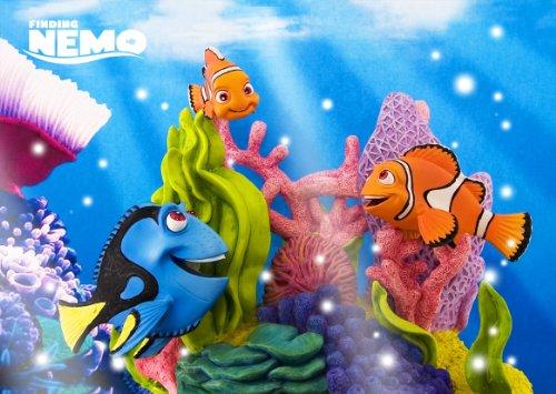 (Disney Amazing 3D Greeting Card Postcard - Finding Nemo 3D Greeting Card - )