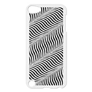ipod 5 cell phone cases White Optical illusion fashion phone cases UTE434209