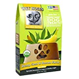 Wet Noses Organic USA Made All Natural Dog Treats, Hemp Seed & Banana, 1 pack