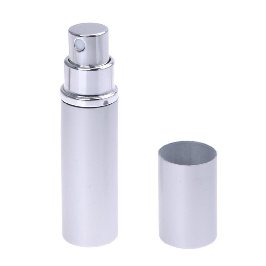 AKORD Refillable Perfume Atomiser Spray Bottle, Silver HO-114