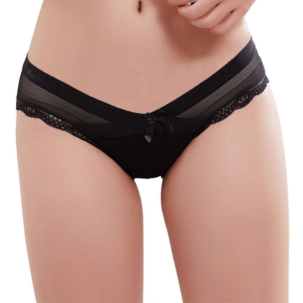 Women's Lower-Waist Panties, Lace Seamless Soft Care Abdomen Underwear,2019 New