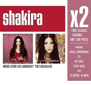 Shakira X2 Donde Estan Los Ladrones Pies Descalzos By