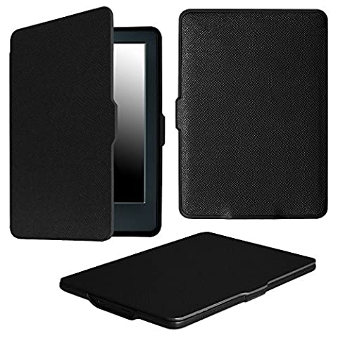 Fintie Case for All-New Kindle E-reader (8th Generation 2016) - The Thinnest and Lightest SmartShell Cover with Auto Wake/Sleep for Amazon All-New Kindle (6