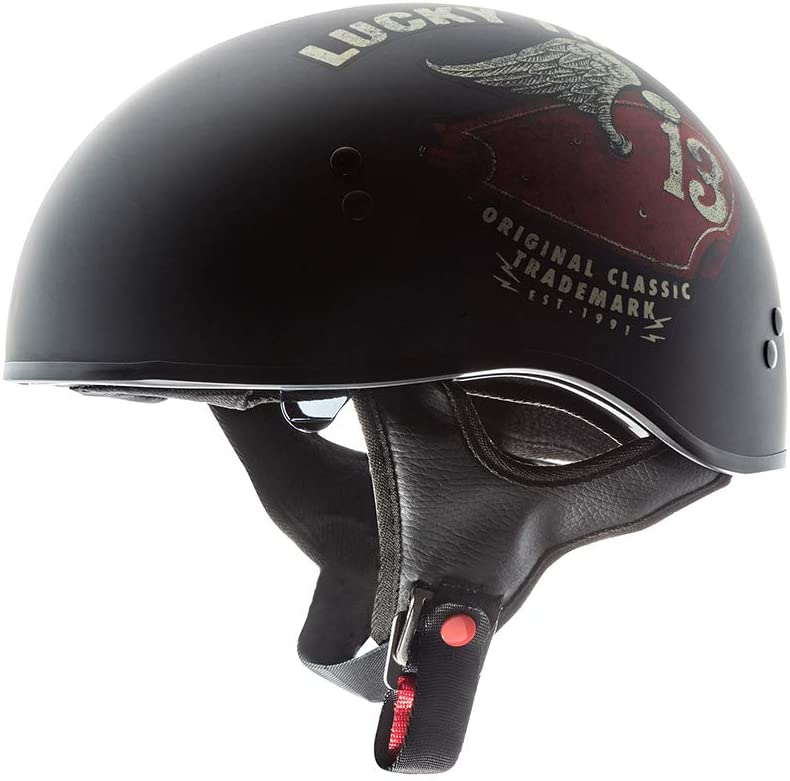 TORC T55 Spec-Op Half Helmet Black, X-Large