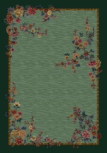 Milliken Signature Collection Mindre' Runner Area Rug, 2'1 x 7'8, Peridot - Peridot Signature Collection