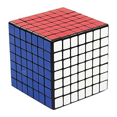 Shengshou 7x7x7 Cube Puzzl, black: Toys & Games