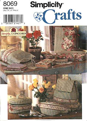 Simplicity 8069 Crafts Bags and Covers