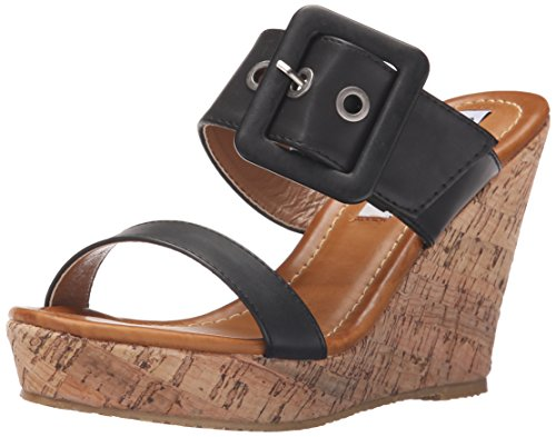 Black Sandal Too Lips Wedge Too Finesse Women 2 q07Yxzwf